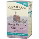 Good Earth Chai Vanilla, Decaffeinated, Tea Bags