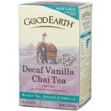 Good Earth Chai Vanilla, Decaffeinated, Tea Bags