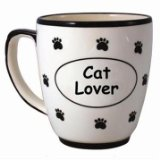 Cat Lover Ceramic Coffee Mug