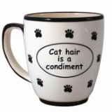 Cat Hair is a Condiment Coffee Mug