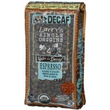 Larrys Beans Fair Trade Organic Coffee, Decaf Espresso