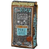 Larrys Beans Fair Trade Organic Coffee, Decaf Peru