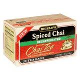 Bigelow Decaffeinated Spiced Chai Tea