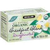 Bigelow Organic Breakfast Blend Decaffeinated Tea