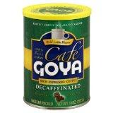 Goya Espresso Decaf Coffee Cans