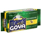Goya Decaffeinated Espresso Coffee Packs