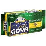 Goya Decaffeinated Espresso Coffee Packs