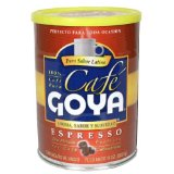 Goya Espresso Coffee Vacuum Packed Can