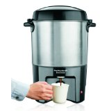 Hamilton Beach 40540 Brew Station 40-Cup Coffee Urn - Silver