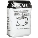 Nescafe French Vanilla Frothy Coffee Beverage Mix