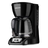 Black & Decker DLX1050B 12-Cup Programmable Coffeemaker with Glass Carafe