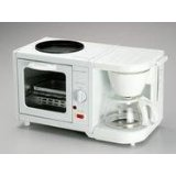 EMATIC EM-207 3 in 1 Breakfast Maker Kitchen with Coffee Kettle