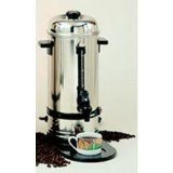 Alfa International 35 Cup Stainless Steel Urn Coffee Maker