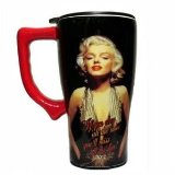Marilyn Obey Rules Travel Mug