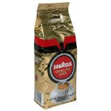 Lavazza Italian Coffee, Qualita Oro - bean, 8.8-Ounce Bags (Pack of 4)
