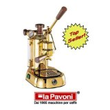 La Pavoni PPG-16 Professional Gold-Plated 16-Cup Espresso Machine