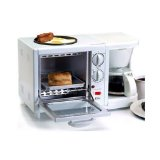 Maxi-Matic EBK-200 Elite Cuisine 3-in-1 Breakfast Station 4-Cup Coffee Maker