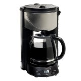 Maxi-Matic EHC-646T Elite Platinum 12 Cup Programmable Coffee Maker in Black/Stainless