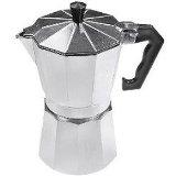 MBR Aluminum 9 Cup Espresso Maker