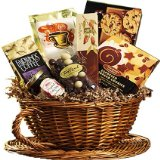 Java Giant Coffee and Espresso Gift Set - Gourmet Food Gift Basket