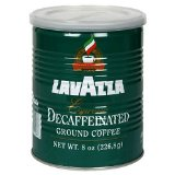 Lavazza Decaffeinated Espresso Ground Coffee