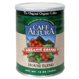 Café Altura Organic Coffee, House Blend, Ground