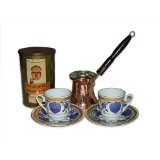 Turkish Coffee Set for Two TCW-001A