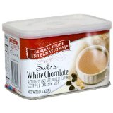 General Foods International Coffee, Swiss White Chocolate Swiss Style Coffee Drink Mix