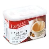General Foods International Coffees Hazelnut Cafe