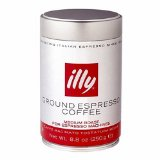 illy Caffe Normale Fine Grind (Red Band) Coffee