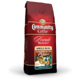 Community Coffee French Quarter Fusion Private Reserve Whole Bean Coffee