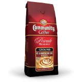 Community Coffee Cinnamon Roll Flavored Private Reserve Ground Coffee