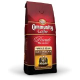 Community Coffee Louisiana Blend Medium Dark Private Reserve Whole Bean Coffee