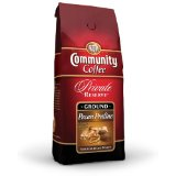 Community Coffee Pecan Praline Flavored Private Reserve Ground Coffee