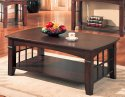 Coffee Table Antique Country Style in Cherry Finish by Coaster