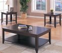Cappuccino Occasional Table Set By Coaster Furniture