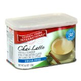 General Foods International Sugar Free Chai Latte Drink Mix