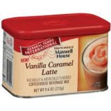 General Foods International Coffee, Vanilla Caramel Latte Drink Mix in Tins