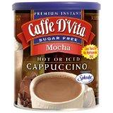 Caffe D'Vita Sugar Free Mocha Instant Cappuccino