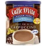 Caffe D'Vita Sugar Free French Vanilla Instant Cappuccino