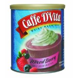Caffe D'Vita Mixed Berry Fruit Cream Smoothie