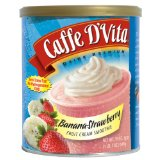Caffe D'Vita Banana Strawberry Fruit Cream Smoothie