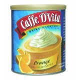 Caffe D'Vita Orange Fruit Cream Smoothie