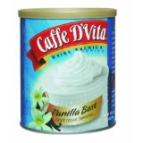 Caffe D'Vita Vanilla Base Fruit Cream Smoothie