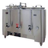 Grindmaster AMW Twin Space Saver Urn - Three Gallon Liner