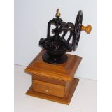 Classic Wheel Crank Manual Coffee Grinder Antique Look