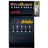 Seaga Mechanical Combo Vending Machine w/ Changer