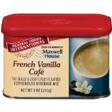 General Foods International French Vanilla Cafe Coffee Drink Mix