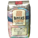 Boyers Coffee Butterscotch Toffee Decaf