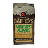 Cameron's Rainforest Alliance Columbian Whole Bean Coffee